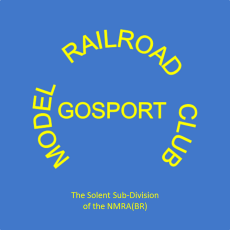 The badge of the American Model Railroad Group Gosport